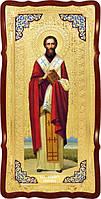 Храмовая икона Святой Киприан в ризе