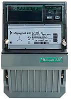 Электросчетчик Меркурий 230 AR-03 R 3*220/380В 5 (7,5)А  3ф., активно-реактивный трансф. вкл. однотарифный