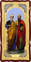 Церковная большая икона Святые Петр и Павел