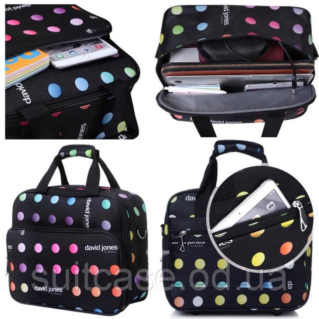 Ультра-легкий тканевый чемодан 2-х колесах David Jones 1003, цена 1 ... 6332092274d