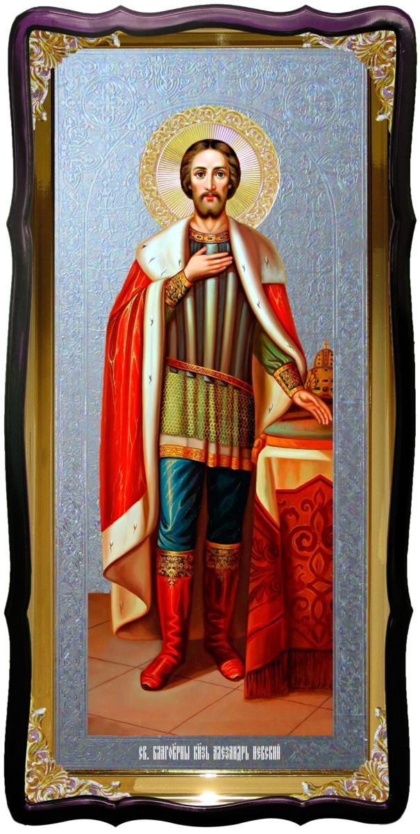 Образ на іконі: Святий Олександр Невський