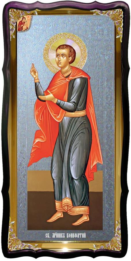 Святий Боніфатій християнська церковна ікона