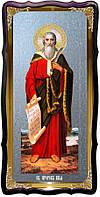 Святой Илья пророк христианская икона для церкви