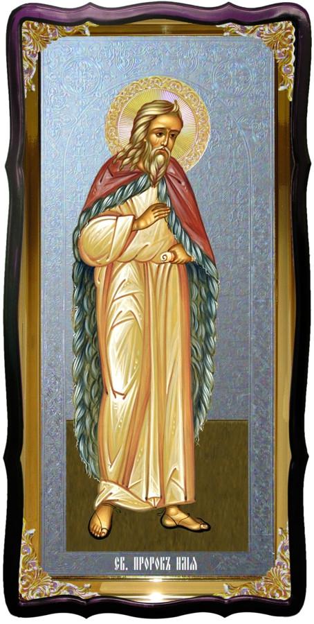 Святий пророк Ілля християнська церковна ікона
