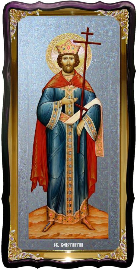 Святий Костянтин настінна церковна ікона