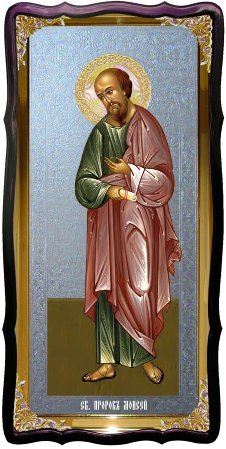 Святой Моисей пророк ростовая икона