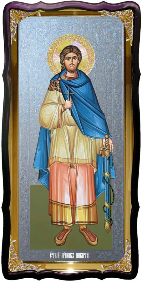 Святий Микита велика храмова ікона