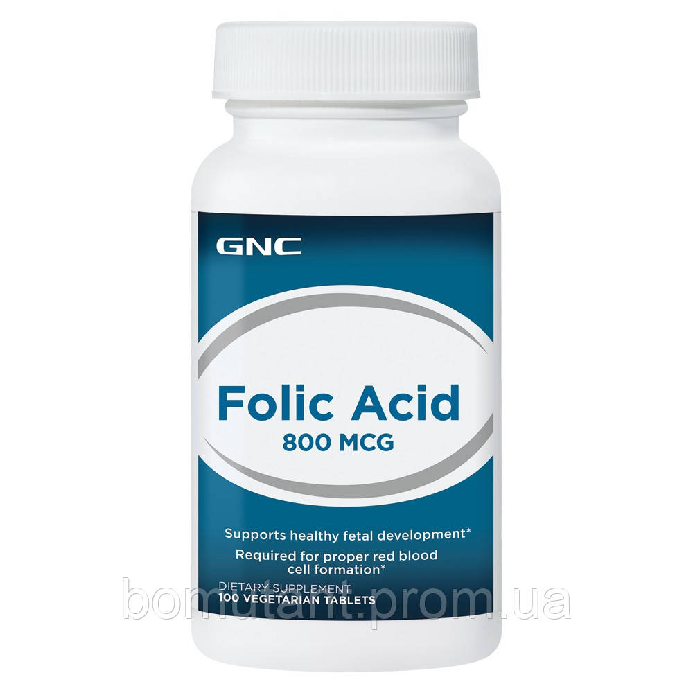 Folic Acid 800 mcg 100 veg таб GNC