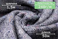 Ватин в рулонах (1500mm), для производства верхней одежды, спецодежды, матрацев и мебели