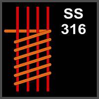 SS316 Caterpillar Coil GeekVape (4*0.32X0,25)