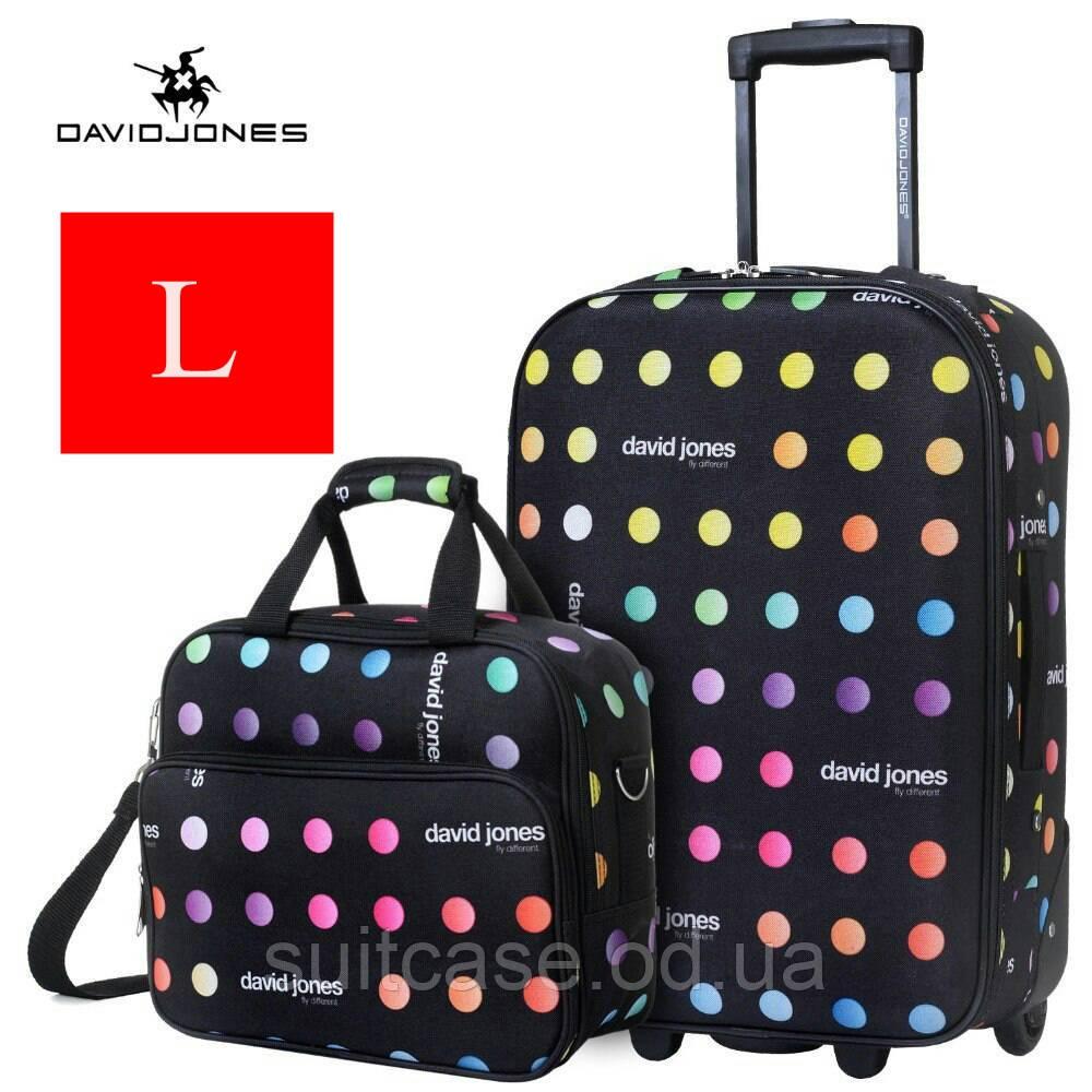 Ультра-легкий тканевый чемодан 2-х колесах David Jones 1003 - Интернет -магазин 7e03b7c9c03