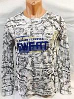 """Батник мужской модный с надписями (5 цветов), размеры 46-52 Серии """"BROOKLYN"""" купить оптом в Одессе на 7 км"""