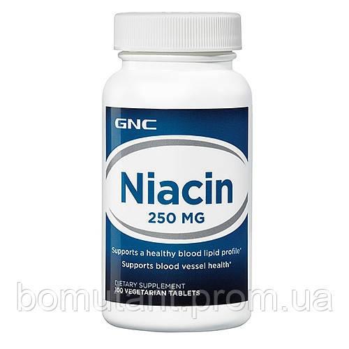 Niacin 250 100 таб GNC