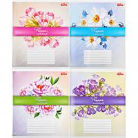 Тетрадь 24 л клетка Flower Notebook