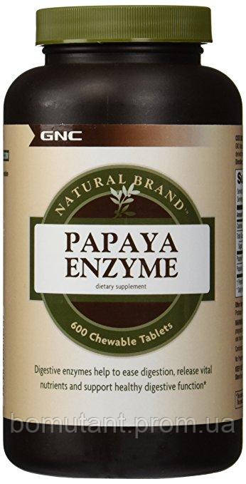 Papaya Enzyme 240 chewable табs GNC