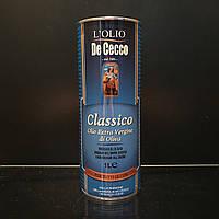 Натуральное оливковое масло De Cecco Classico 1л (Де Чеко)