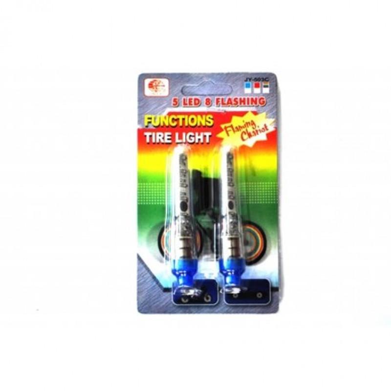 Ковпачок для ніпеля велосипеда LED JY 503-C з батарейками