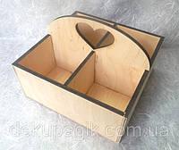Подставка для специй, чайных пакетиков на 4 отделения