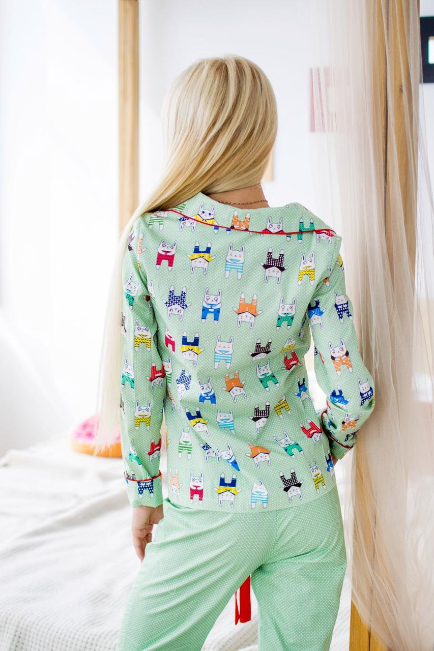 90edf7075962 Пижама 1852 коты: продажа, цена в Харькове. пижамы женские от ...