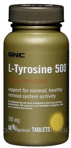 L-Tyrosine 500 mg 60 veg cap GNC