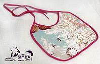 Эксклюзивный нагрудник / слюнявчик для собак для выставок и дома Pets Couturier SIMBA