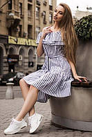 Платье Марьяна в полоску