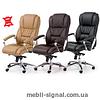 Кожаное кресло офисное Foster (Halmar)