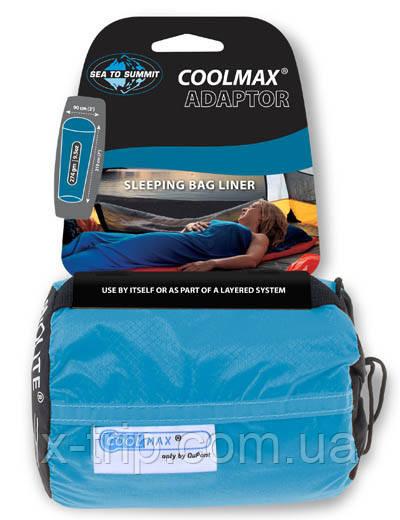 Вкладыш в спальный мешок Sea to Summit Coolmax Adaptor Liner