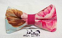 Галстук-бабочка для собаки или владельца Vintage Blue от Pets Couturier SIMBA эксклюзив