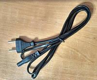 Шнур сетевой для бытовых электроприборов - 1.2 м (КНР)
