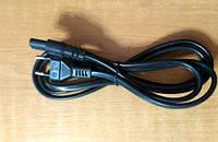 Шнур сетевой для бытовых электроприборов - 1.2 м (КНР) HQ