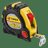 Рулетка измерительная TOPEX с магнитом 10м 27C340