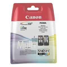 Картридж СANON PG 510 + CL 511 multipack для принтера совместим PIXMA iP 2700 MP 230 240 250 260 270