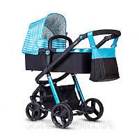 Универсальная коляска 2 в 1 ANEX TEMPO, голубая