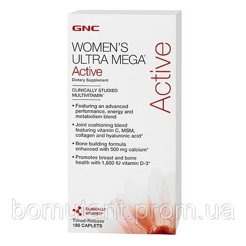 Womens Ultra Mega Active 180 cap GNC