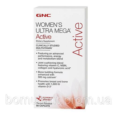 Womens Ultra Mega Active 90 cap GNC