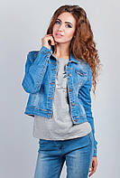 Куртка джинсовая современная AG-0003165 Голубой