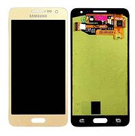 Оригинальный дисплей (модуль) + тачскрин (сенсор) для Samsung Galaxy A3 A300 A300F A300H A3000 (золотой цвет)