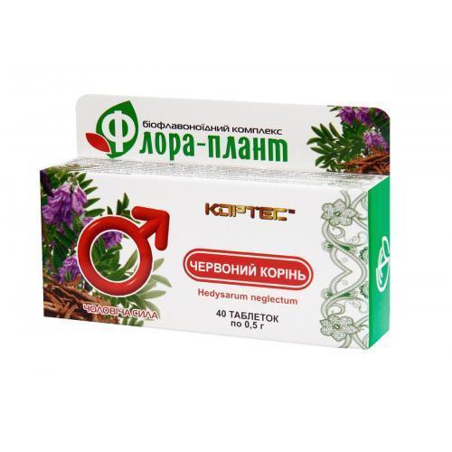 Красный корень Флора-плант 40 таблеток
