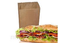 Пищевые пакеты из крафта 270х150х50 мм
