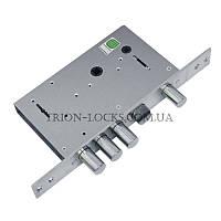 Замки для металлических дверей врезной сувальдный с задвижкой ГАРДИАН 30.12 (77 мм)