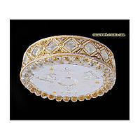 Хрустальная люстра на девять лампочек цвет золото SZ-1220/9C