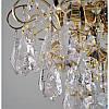 Хрустальная люстра золотая на три лампы SW-12125/3C FG, фото 3