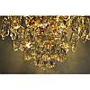Хрустальная люстра золотая на три лампы SW-12125/3C FG, фото 5