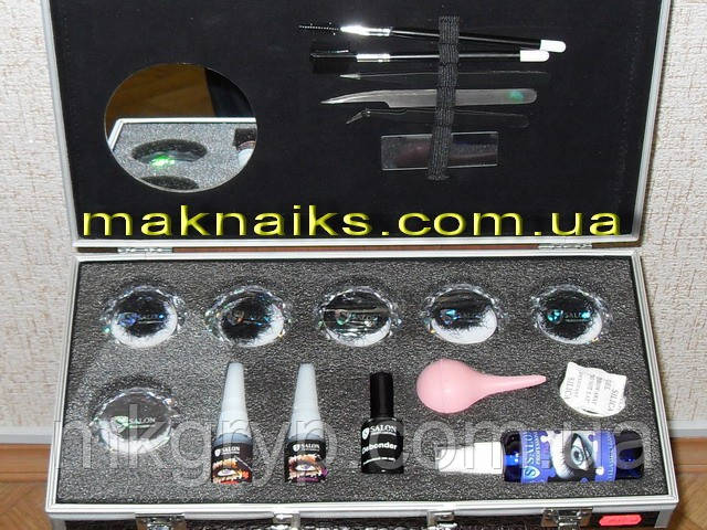 Набор для наращивания ресниц Salon Professional №2  (USA)