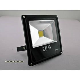 Прожектор LED 20 Вт черный SW-121-20W BK