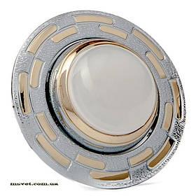 Точечный поворотный светильник R50 золото-хром DELUX_DR50122R_R50 220V зол-хром