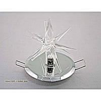Точечный врезной светильник звезда хром VL-врезной звезда/CR