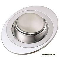 Точечный поворотный светильник R50 хр.мат-хром DELUX_DR50108R_R50 220V хр.мат-хром