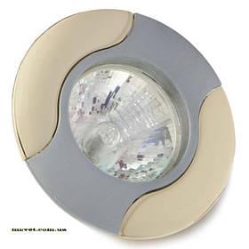 Точечный поворотный светильник R50 хр.мат-зол DELUX_DR50107R_R50 220V хр.мат-зол
